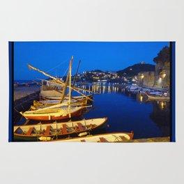Night at Collioure Rug