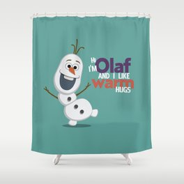 Olaf Shower Curtain