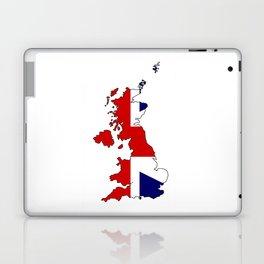 United Kingdom Map and Flag Laptop & iPad Skin