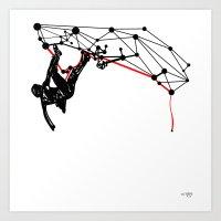 the Climber Art Print