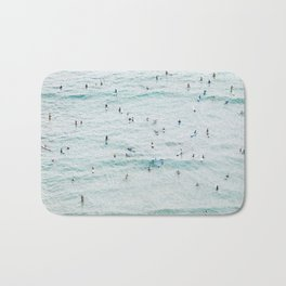 IT'S CROWDED FOR THE CROWD Bath Mat