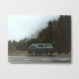 Northwest Van Metal Print