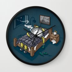 Sleep Modus Wall Clock