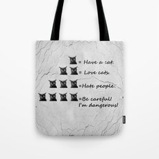 Do you love cats? Tote Bag