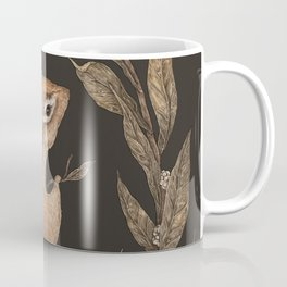 The Chipmunk and Bay Laurel Coffee Mug