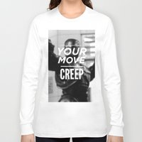 robocop Long Sleeve T-shirts featuring Robocop Typography by Jessica Buie