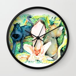 My Jungle BOOK Wall Clock