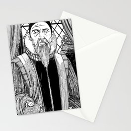 Dr. John Dee Stationery Cards