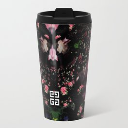 Givenchy all over flower and camo printed nightingale  with detachable shoulder strap and one int Travel Mug