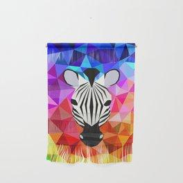 Zebra Dazzle Wall Hanging