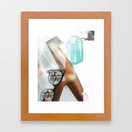 Planes of Perception Framed Art Print