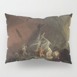 Aeneas and the Sibyl Pillow Sham