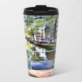 Amsterdam Canal Travel Mug