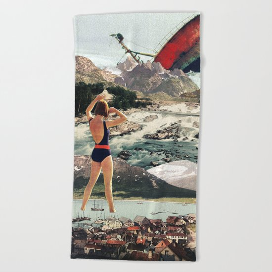 The Wreck Beach Towel