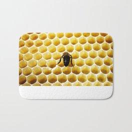 Geometric Bee Bath Mat