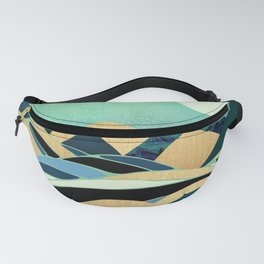 Emerald Evening Fanny Pack