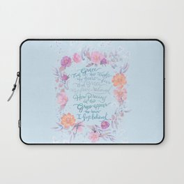 Amazing Grace - Hymn Laptop Sleeve