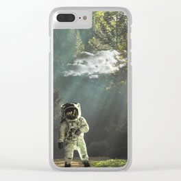 ran Out Of Space Clear iPhone Case