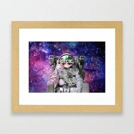 Exploring Space Beauty Framed Art Print