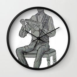 norman rockwell modern twist Wall Clock