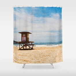 Life Guard Off Duty Shower Curtain