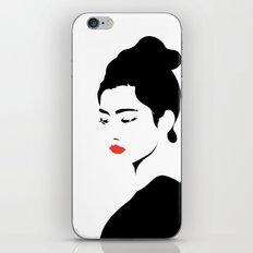 A girl iPhone & iPod Skin