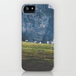 Beartooth Mountain Goats iPhone Case