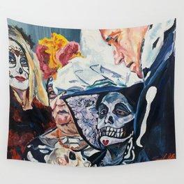 La Sesion de Espiritismo (The Seance) Wall Tapestry