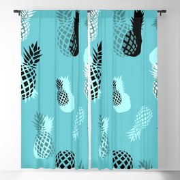 Pineapple Pattern Blackout Curtain