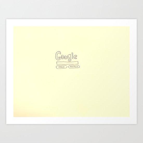 the other google Art Print