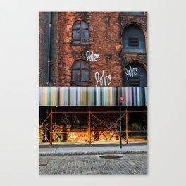 Morning Love - Brooklyn NY Canvas Print
