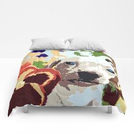 """""""Fata Flora"""" ~ Dachshund, Weiner Dog, Doxie, everywhere! Comforters"""