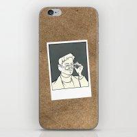 iron giant iPhone & iPod Skins featuring The Iron Giant - Dean McCoppin by Petia Koteva