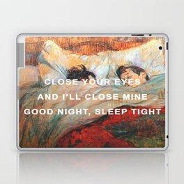 Good Night/The Bed Laptop & iPad Skin