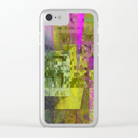 compulsion Clear iPhone Case