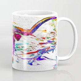 Longhorn Grunge Coffee Mug
