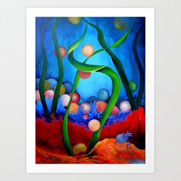 Caviar Dreams Art Print