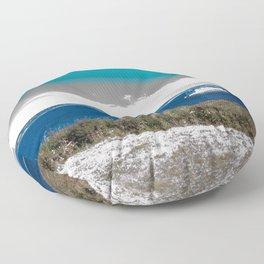 Surrealistic Ferry (Ferry Dreams) Floor Pillow