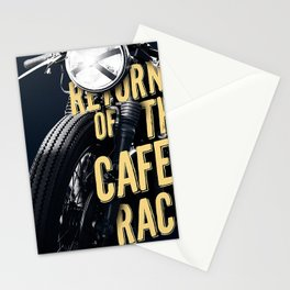Return of the cafe racer Stationery Cards