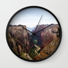 Observation Point Wall Clock