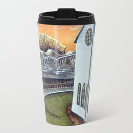 Cardiff Bay Sunset Travel Mug