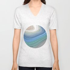 Topography Unisex V-Neck