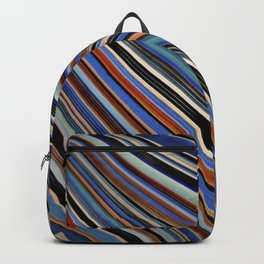 Wild Wavy Lines III Backpack