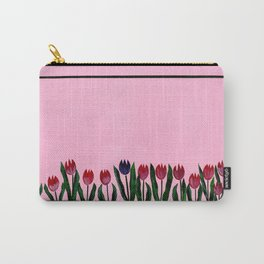 Tulipes Carry-All Pouch