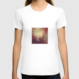 Burgandy Red Lava Lamp Abstract T-shirt