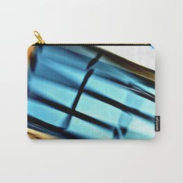 Abstract 3D Garage Door Carry-All Pouch