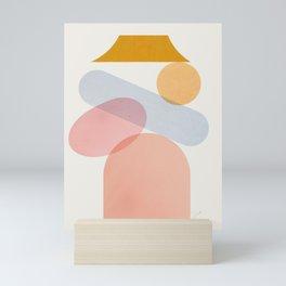 Abstraction_Home_Sweet_Home Mini Art Print