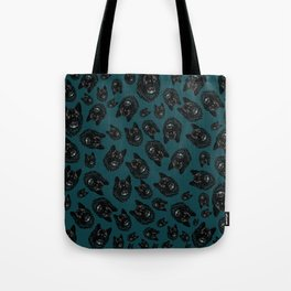 Totem love wolf pattern Tote Bag