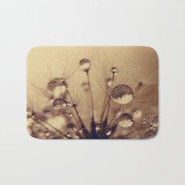 dandelion gold XV Bath Mat