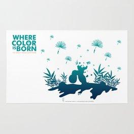 "Köpke's ""Where Color is Born - The Great Panda Adventure"" Rug"